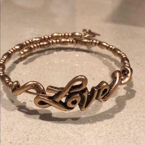 Alex and Ani Love Bracelet
